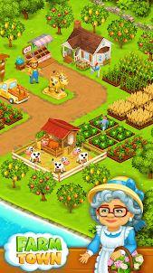 Farm Town المزرعه السعيده اوف لاين