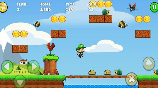 اللعبة الشبيهة الي لعبة الطفولة سوبر ماريو Super Adventure