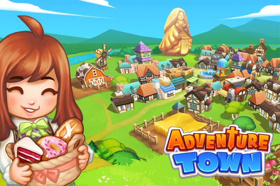 افضل لعبة مغامرات للاندرويد Adventure Town اللعبة الشيقه والرائعه