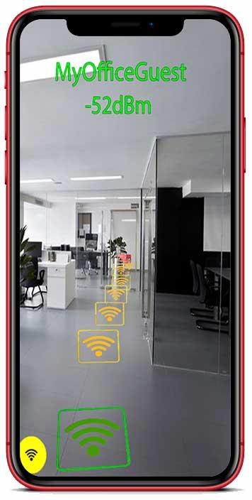 اعرف قوة اشاره شبكة wifi مع هذا التطبيق wifi ar