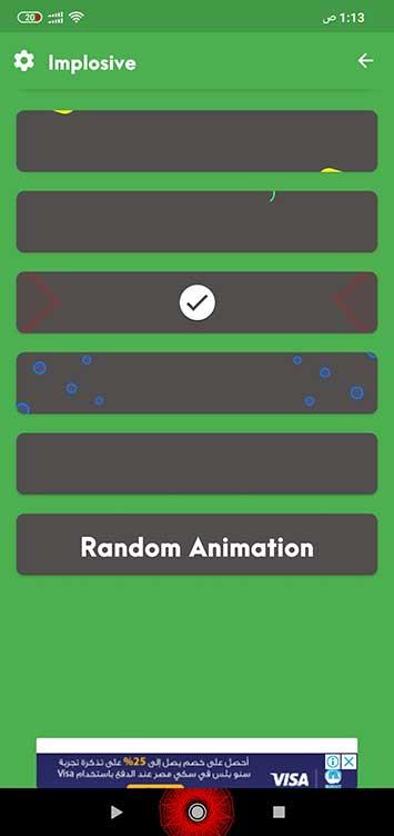 تغير شكل أزرار التنقل الى شكل مميز وجذاب Navbar Animations