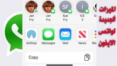Photo of ميزات WhatsApp القادمة لنظام iOS مع ألوان الفقاعة الجديدة واختصار الاتصال وغيرة !