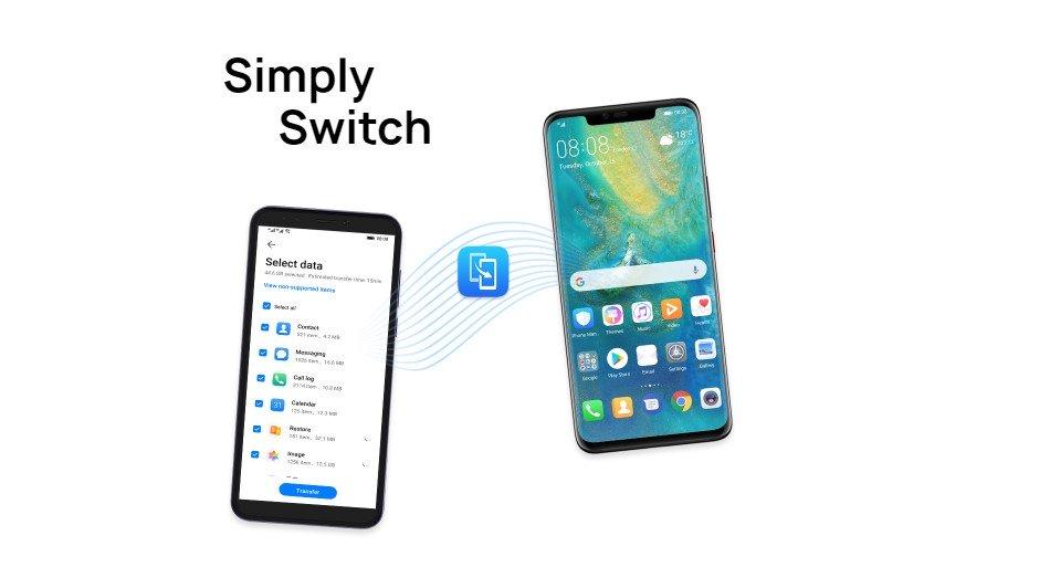 كيفية نقل البيانات من الهاتف القديم إلى الهاتف الجديد Huawei فى دقائق !