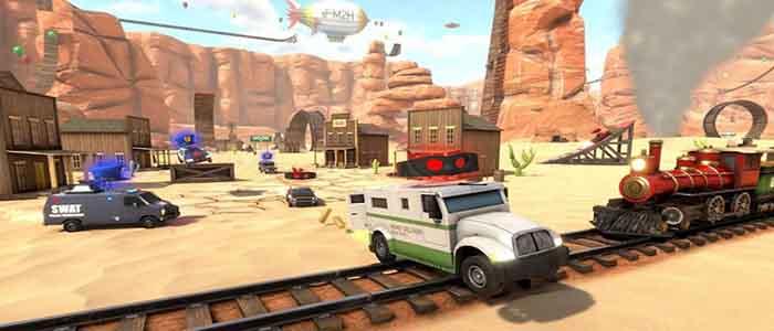 اقوي العاب سباق السيارات للاندرويد (Crash Drive 3)